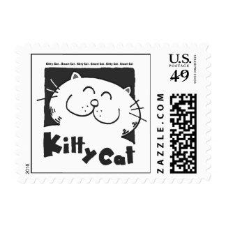 Funny Kitten   Smart Cat t Shirt Stamp