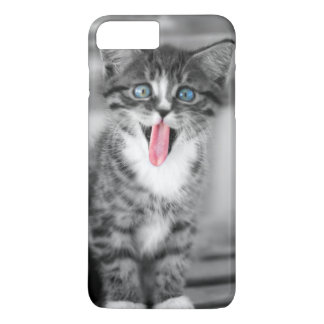 Funny Kitten With Tongue Hanging Out iPhone 8 Plus/7 Plus Case