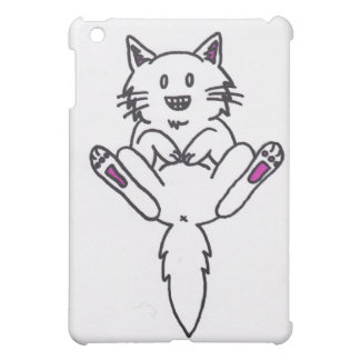 funny kitty cat cover for the iPad mini