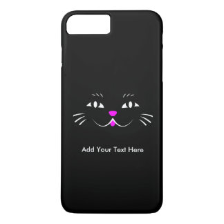 Funny Kitty Cat Face iPhone 7 Plus Case