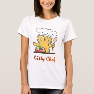 Funny kitty T Shirt | Cool Kitty Chef T Shirt