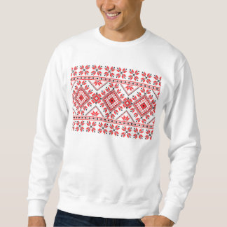 Funny Knitted Christmas Sweater - Fake Knit Sweatshirt