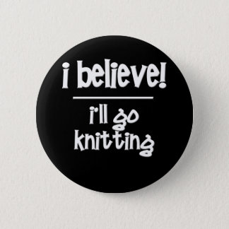 Funny Knitting Button