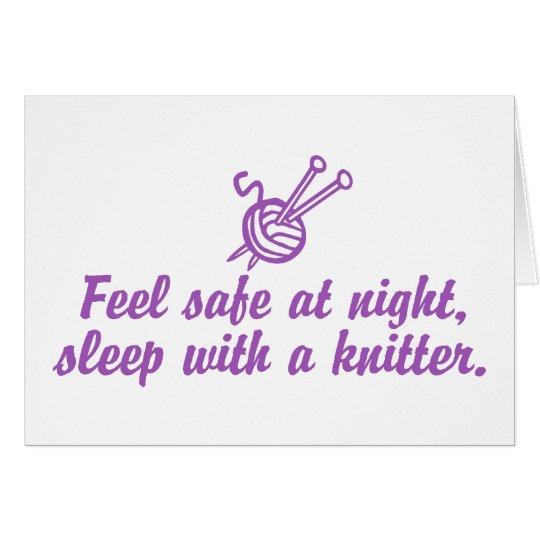 Funny Knitting Card
