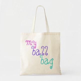 funny knitting 'my ball bag' for balls of wool