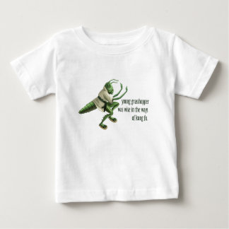 Funny Kung Fu Grasshopper Baby T-Shirt