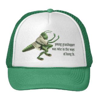 Funny Kung Fu Grasshopper Trucker Hat