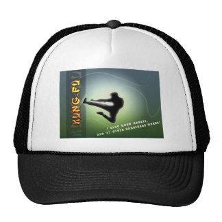 Funny Kung-Fu Trucker Hat