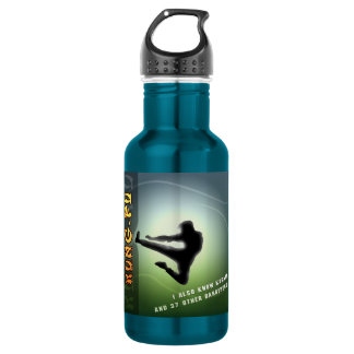 Funny Kung-Fu Water Bottle