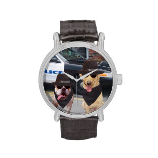 Funny Lab and Bull Dog Watch