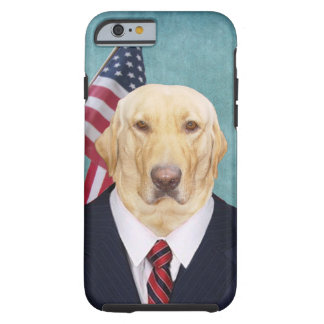 Funny Lab/Dog Congressman Tough iPhone 6 Case