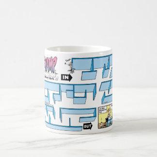 Funny Lab Rat Cartoon Coffee Mug