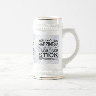 Funny Lacrosse Design Beer Stein