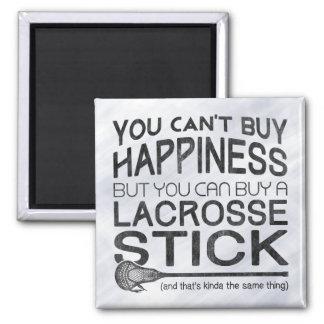 Funny Lacrosse LAX Design Magnet