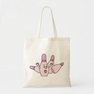 Funny Ladies Bowling Tote Bag