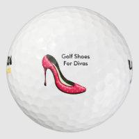 Funny Ladies Golf Balls