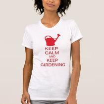 Funny Lady Gardener Gift: Gardening Keeps You Calm T-Shirt