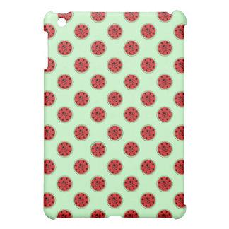 Funny Ladybug and Watermelon Case iPad Mini Cases