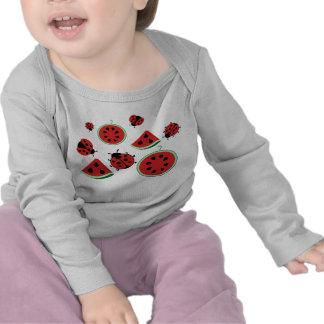 Funny Ladybug and Watermelon Shirt