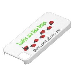 Funny ladybug modern iphone case
