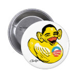 Funny Lame Duck Potus Obama Gear 2 Inch Round Button