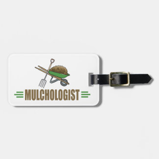 Funny Landscaper Luggage Tag