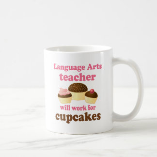 Funny Language Arts Teacher Coffee Mug