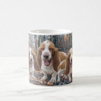 Funny Laughing Basset Hounds Coffee Mug