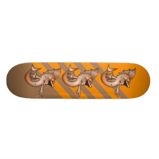Funny Laughing Fish Skateboard