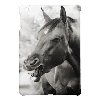 Funny Laughing Horse iPad Mini Cover