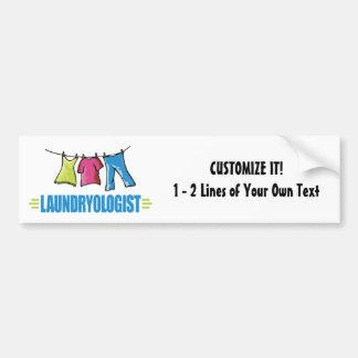 Funny Laundry Bumper Sticker