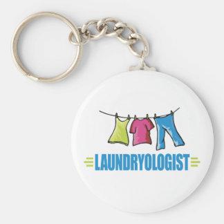 Funny Laundry Keychain