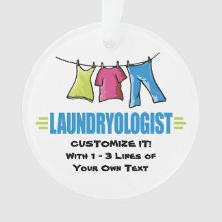 Funny Laundry Ornament