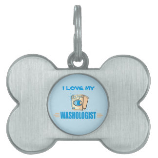 Funny Laundry Pet Name Tags
