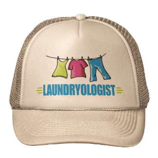 Funny Laundry Trucker Hat