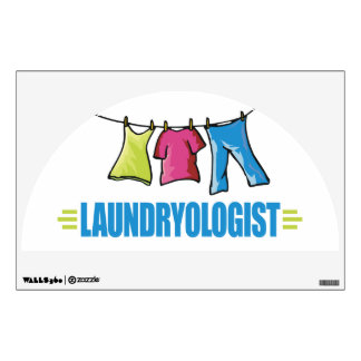 Funny Laundry Wall Decal