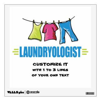 Funny Laundry Wall Sticker