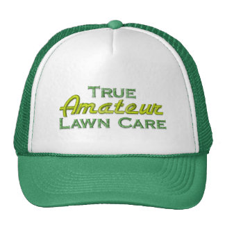 Funny Lawn Mowing Trucker Hat