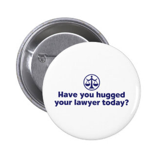 Funny Lawyer 2 Inch Round Button