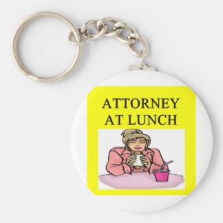 funny lawyer attorney joke basic round button keychain