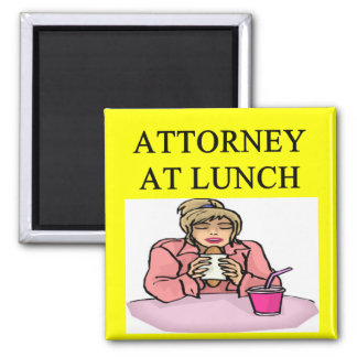 funny lawyer attorney joke 2 inch square magnet