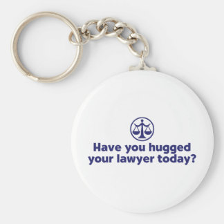Funny Lawyer Basic Round Button Keychain