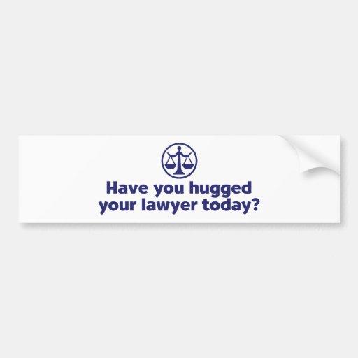 Funny Lawyer Bumper Sticker