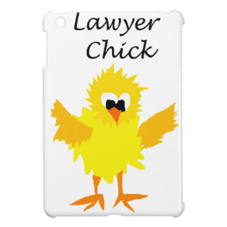 Funny Lawyer Chick Art Design Cover For The iPad Mini