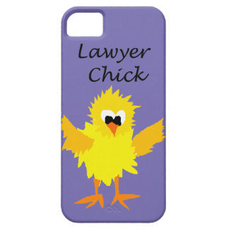 Funny Lawyer Chick Art Design iPhone SE/5/5s Case