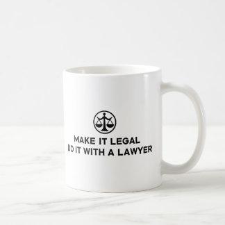Funny Lawyer Coffee Mugs