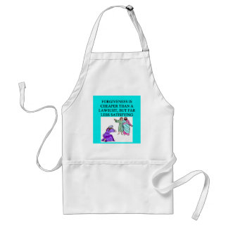 funny lawyer proverb apron