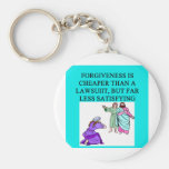 funny lawyer proverb key chain