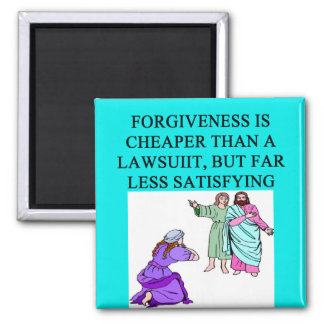 funny lawyer proverb 2 inch square magnet