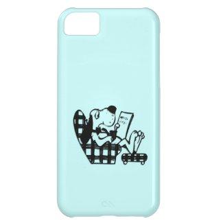 Funny Lazy Dog iPhone 5 Case